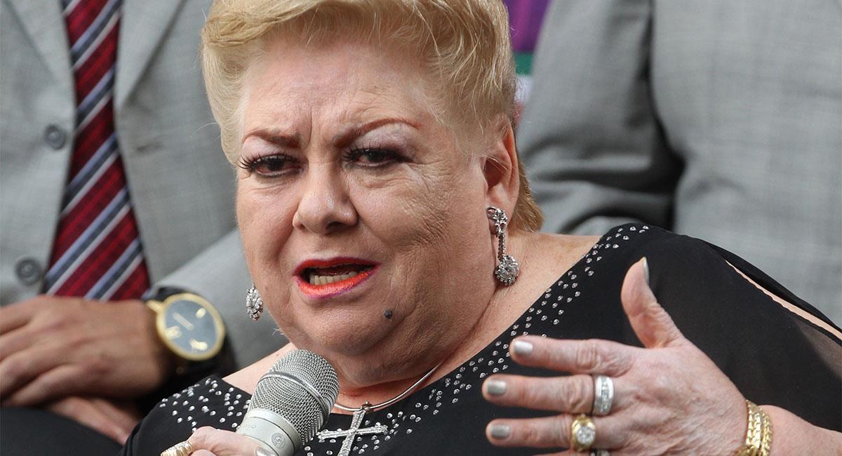 """Paquita la del Barrio no será """"rata de dos patas"""" en la política. Foto: EFE"""