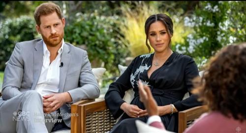 5 impactantes revelaciones de Harry y Meghan de Sussex con Oprah Winfrey