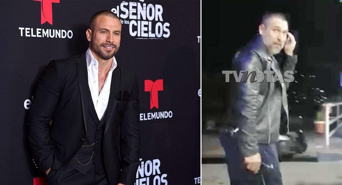 Rafael Amaya y las imágenes que preocupan a sus fans. Foto: Telemundo/TvNotas