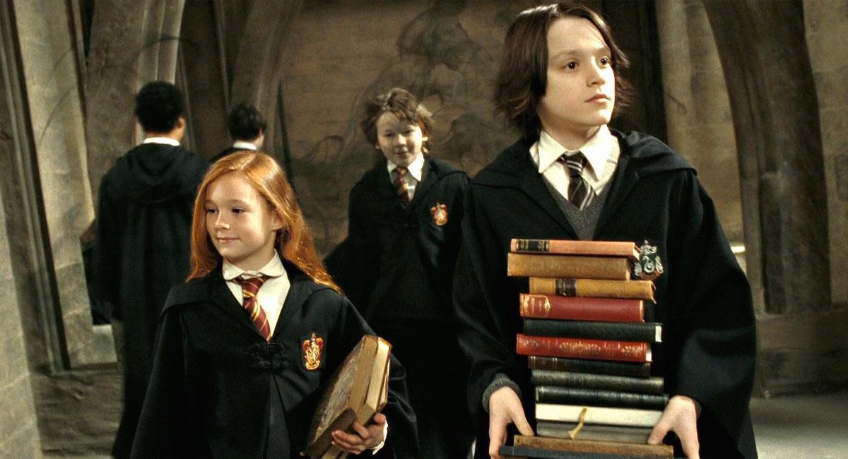 Actores que interpretaron a Snape y Lily Potter de niños se reúnen. Foto: Warner Bros.