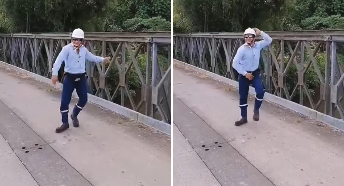 Ingeniero la rompe en Tik Tok con sus bailes de cumbia. Foto: Youtube