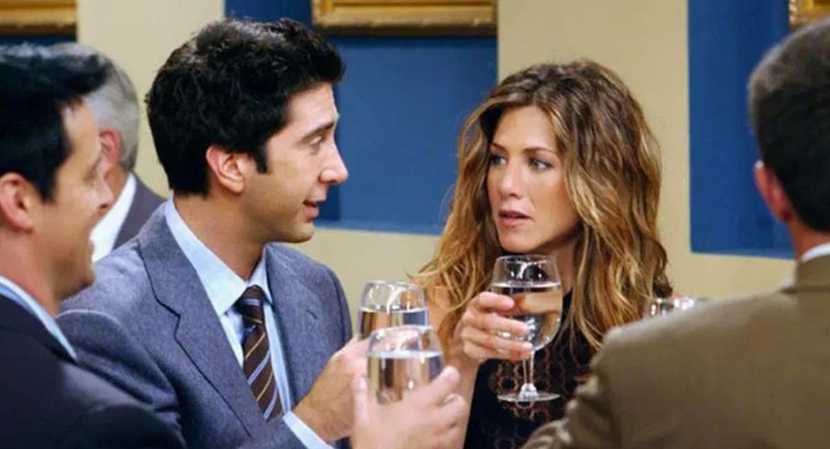 ¿Ross y Rachel estaban en un break?. Foto: Warner Bros.