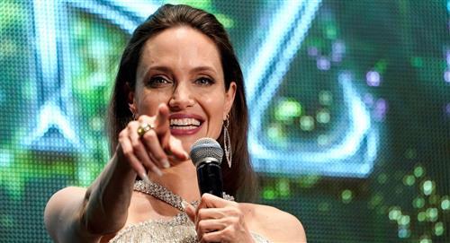 Angelina Jolie visita la casa de su ex, y no es Brad Pitt