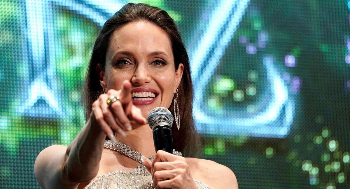 Angelina Jolie visita la casa de su ex, y no es Brad Pitt. Foto: EFE